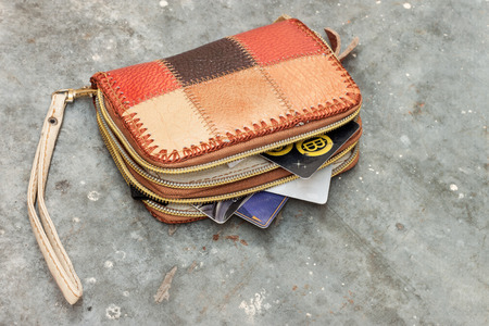 Lost wallet, loss of money, business bankruptcy or bankruptcy