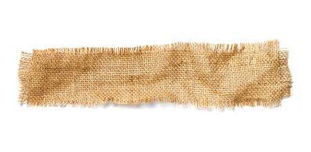 sackcloth: Sackcloth materials isolated on white
