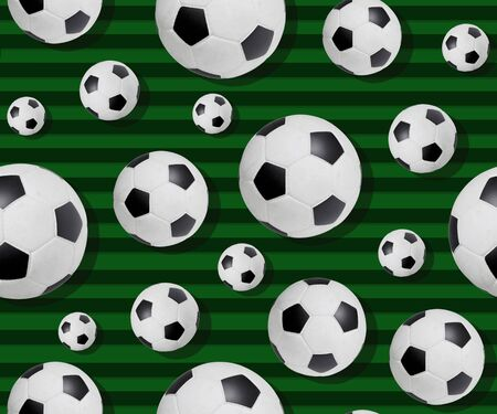 Multiple  ball on a colored background Stock fotó