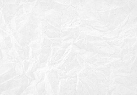 White crumpled paper texture background. Reklamní fotografie