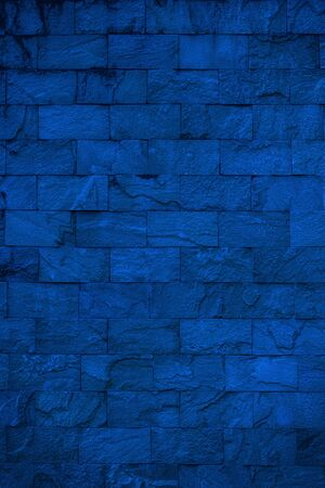Background of blue stone wall texture  Stock fotó