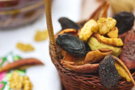 Dried fruits and nuts Stock Photo - 19665955