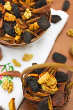Dried fruits and nuts Stock Photo - 19666025