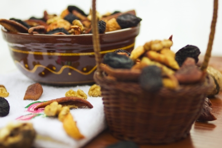Dried fruits and nuts Stock Photo - 19665922