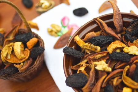 Dried fruits and nuts Stock Photo - 19666069