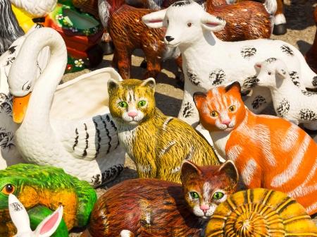 Decorative figures photo