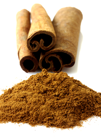 cannelle: Cinnamon isolated Stock Photo