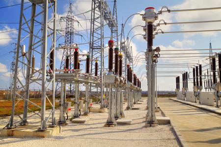 busbar: High voltage switchyard