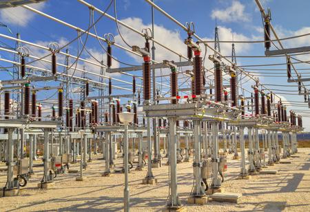 isolator insulator: High voltage switchyard