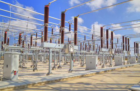 isolator insulator: High voltage switchyard