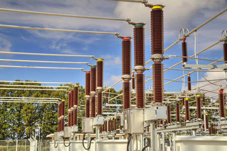 isolator switch: High voltage switchyard