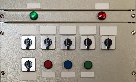 tablero de control: Panel de control el�ctrico