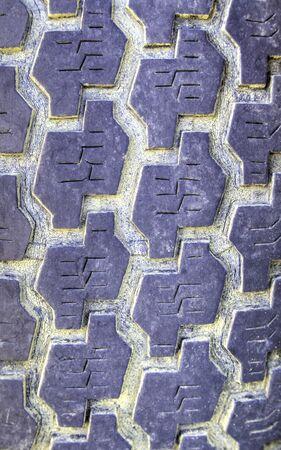 tire tread: Tire relief background closeup