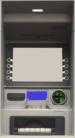 automatic transaction machine: Bank ATM Cash Machine primer plano