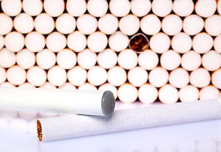 electronic background: Electronic cigarette background