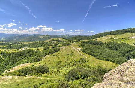 wonderful: Beautiful mountain landscape