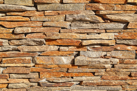Stylish stone wall background