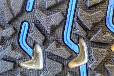 grip: Grip technology for trekking shoes closeup