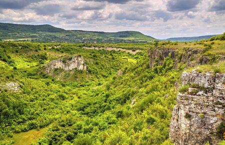 Beautiful summer landscape in mountain range Stock Photo - 128044877