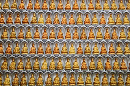 Wall of Guan Yin statues in Malaysia Stock Photo - 17346571