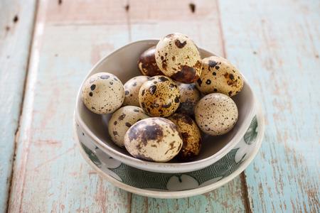 quail egg: Quail Egg in cup