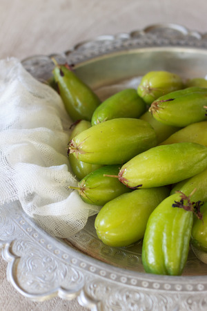 east asia: Bilimbi fruits of South East Asia Stock Photo