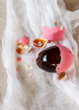 preserved: preserved egg Stock Photo