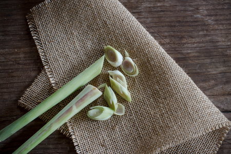 lemongrass: lemongrass prepare for cooking