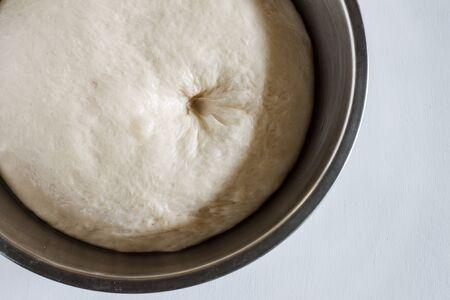 levadura: masa de levadura de pan casero o pizza