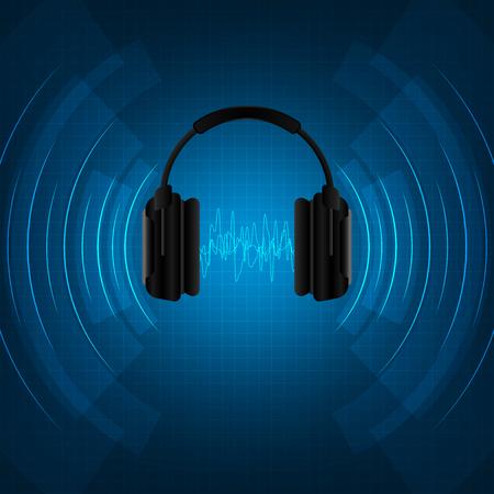 Le cuffie vengono utilizzate per ascoltare i suoni.