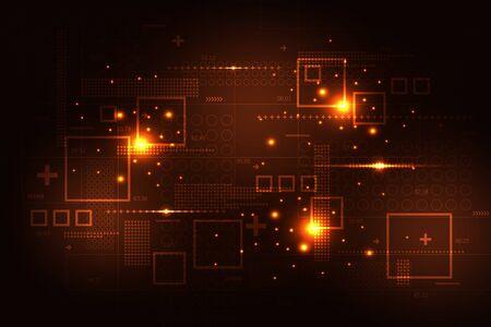 Calculation of various digital information. Illusztráció