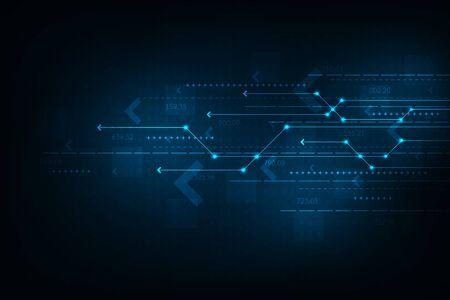 Internet with speed of communication. Illusztráció