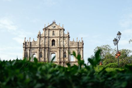 Ruins of St. Paul's - the remains of a 17th cathedral and also one of Macau's most famous landmarks