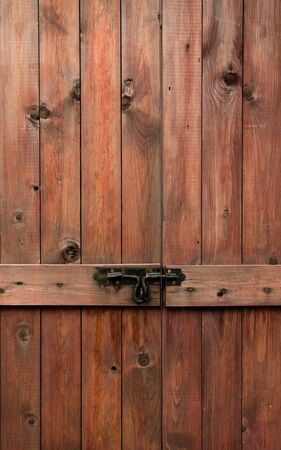 Pictures of old wooden doors and bolts