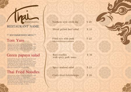 menu de postres: Restaurante de dise�o del men�.