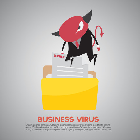 computer viruses: Hacker activity computer and e-mail spam viruses bank account hacking flat icons set isolated vector illustration