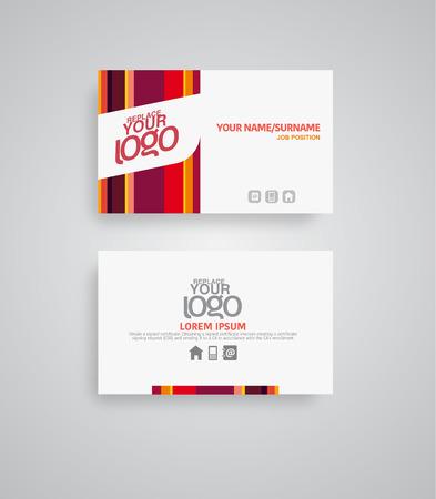 coup de pouce: La puissance des cartes d'affaires couleur pour aider � stimuler votre entreprise. Illustration