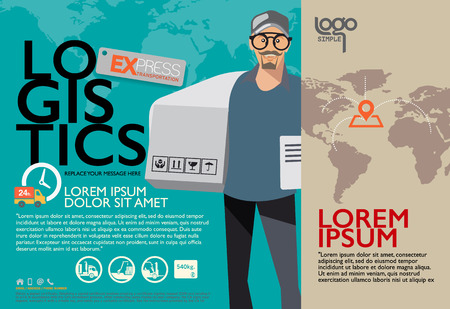 Brochure Design Templates. Character design and illustrator, poster, Vector