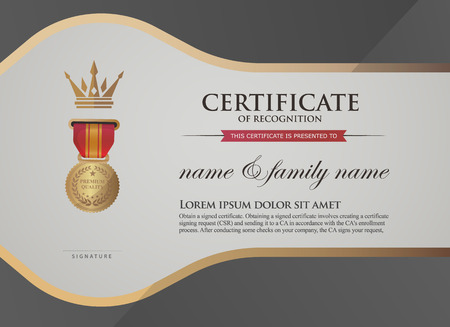superimposed: certificate template. certificate template. Can be rectangular white superimposed on the original text. And can be printed over to the original.