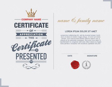 award certificate: certificate template.