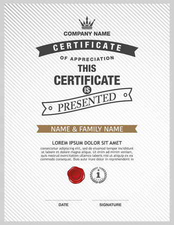 green coupon: certificate template.