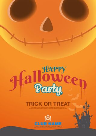 poster template: Halloween poster template
