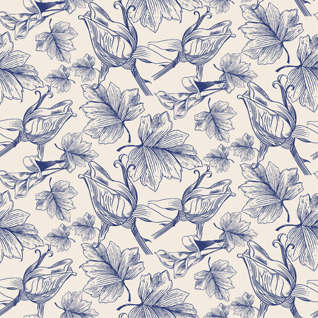weave: Vector seamless pattern. hand drawn stylish texture.