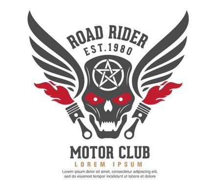 pandilleros: Logotipo de motor de diseño gráfico. logotipo, etiqueta engomada, etiqueta, brazo