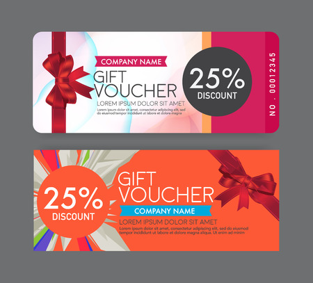 Gift Voucher Template Royalty Free Cliparts Vectors And Stock