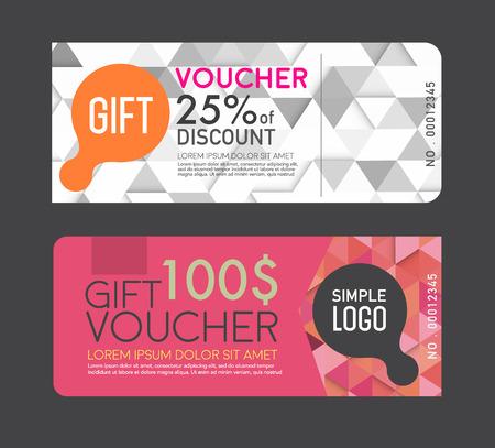 discounts: gift Voucher template.