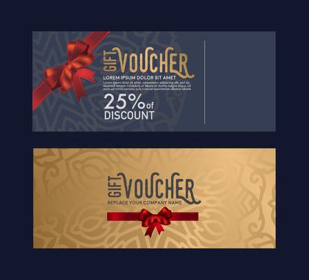 선물 카드, 우아한 세련되고 독특합니다. 일러스트