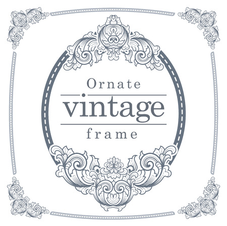 invented: Vintage frames for text input. A meticulously crafted. card, brochure, icon, flyer,Wedding Ceremony We have invented a new pattern.