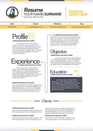template: resume template