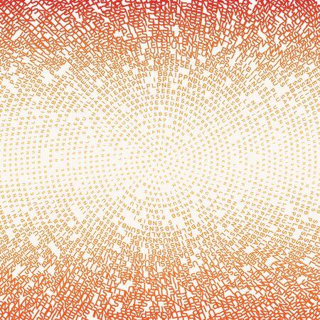 Halftone type pattern background texture, Business plan type. Vektoros illusztráció